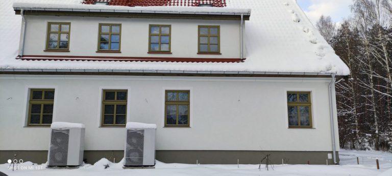 Budynek pensjonatowy w Zielonowie